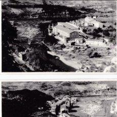 Fotografia antica: F- 1207. PAREJA DE FOTOGRAFIAS DE MONISTROL DE MONTSERRAT. AÑO 1966.. Lote 51959745