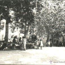Fotografía antigua: MALLORCA - VALLDEMOSA - PUESTOS DE RECUERDOS. Lote 52477512