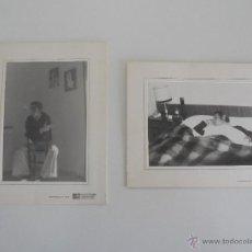Fotografía antigua: LA CASA DEL AFICIONADO FOTO CINE SONIDO. DOS FOTOGRAFIAS.. Lote 52486759
