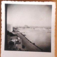 Fotografía antigua: PALMA DE MALLORCA - VISTA DESDE HOTEL BAHIA PALAS - 1955. Lote 52655291