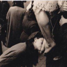 Fotografía antigua: F-1455. FOTOGRAFIA ORIGINAL. PROCESION EN BARCELONA.. Lote 52812363