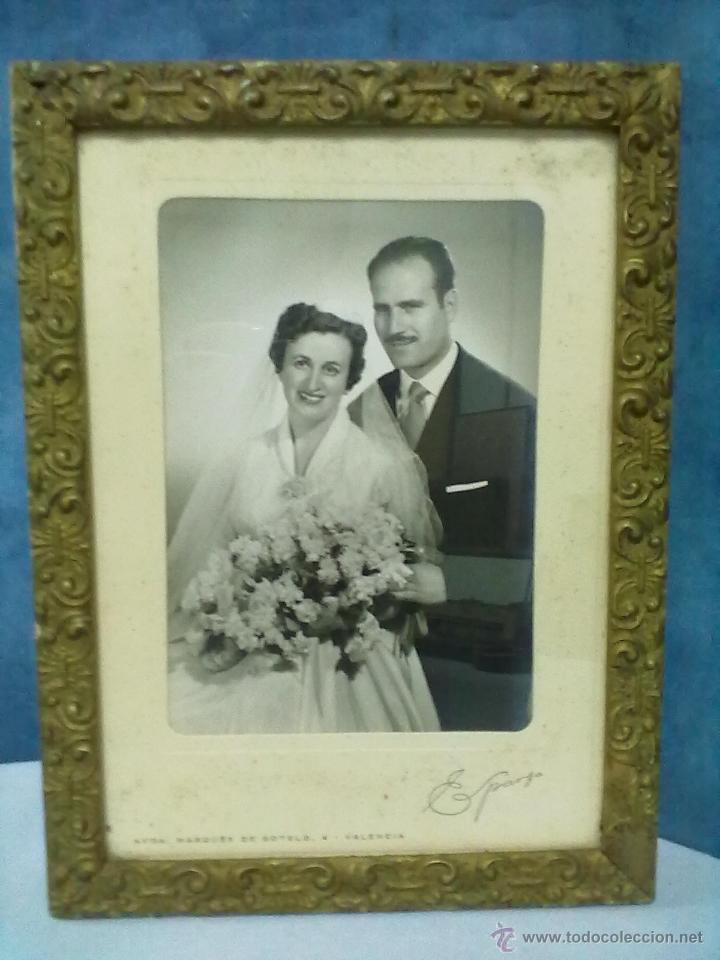 pareja novios fotografia enmarcada con cristal - Comprar Fotografía ...