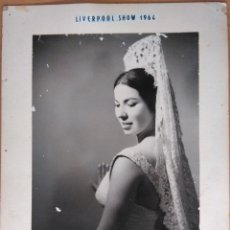Fotografia antiga: MARI MILAGROS - LIVERPOOL SHOW 1964. Lote 53134065