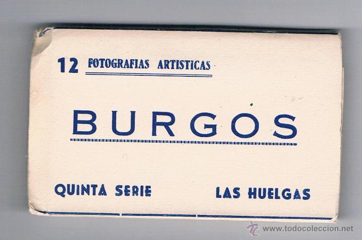 12 FOTOGRAFÍAS ARTÍSTICAS BURGOS QUINTA SERIE LAS HUELGAS 1959 (Fotografía - Artística)