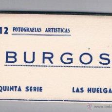 Fotografía antigua: 12 FOTOGRAFÍAS ARTÍSTICAS BURGOS QUINTA SERIE LAS HUELGAS 1959. Lote 53339010