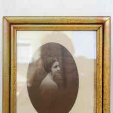 Fotografía antigua: RETRATO DE SEÑORA SEVILLANA AÑOS 20. FOTÓGRAFO CASTELLANO, SEVILLA . Lote 53350989