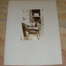 Fotografía antigua: INTEREANTE Y ORIGINAL OBRA DE LALI FOTOGRAFA AÑOS 80 FOTOGRAFIA FIRMADA. Lote 53519942