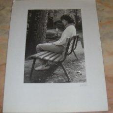 Fotografía antigua: INTEREANTE Y ORIGINAL OBRA DE LALI FOTOGRAFA AÑOS 80 FOTOGRAFIA FIRMADA. Lote 53519967