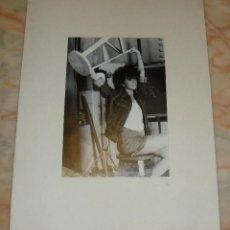 Fotografía antigua: INTEREANTE Y ORIGINAL OBRA DE LALI FOTOGRAFA AÑOS 80 FOTOGRAFIA FIRMADA. Lote 53520016