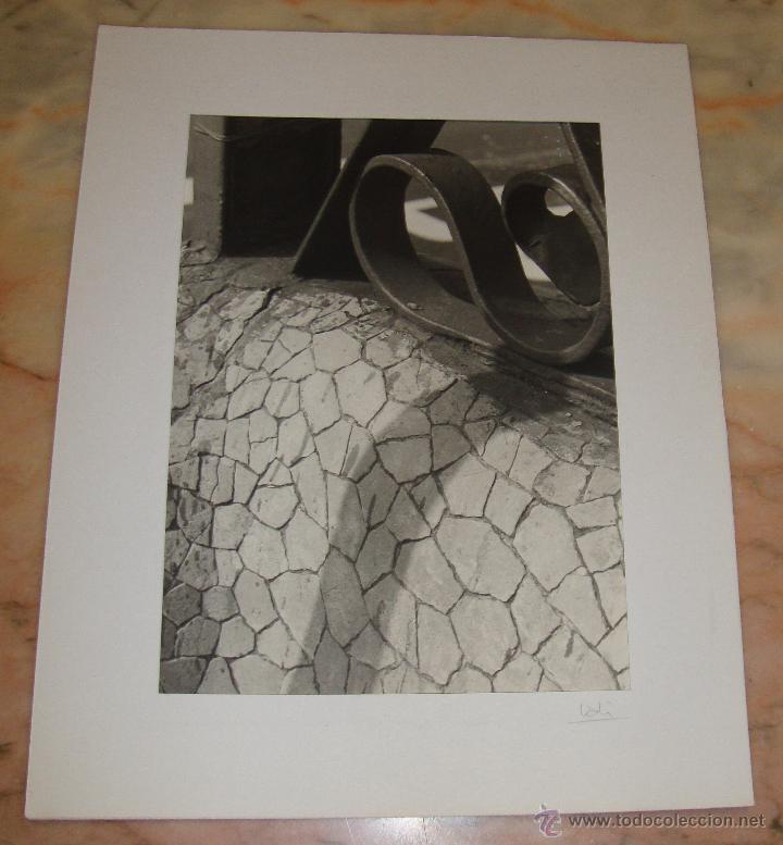 INTEREANTE Y ORIGINAL OBRA DE LALI FOTOGRAFA AÑOS 80 FOTOGRAFIA FIRMADA (Fotografía - Artística)