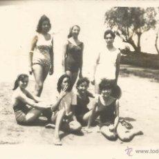 Fotografía antigua: == V345 - FOTOGRAFIA - GRUPO DE AMIGAS EN BAÑADOR. Lote 53626369