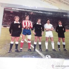 Fotografía antigua: FOTO ANTIGUA ORIGINAL PERSONAL ARBITRO GARCIA CARRION ATLETICO MADRID REAL MADRID. Lote 53706615