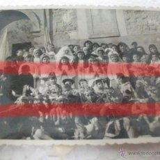 Fotografía antigua: LETUX ZARAGOZA ANTIGUA FOTOGRAFIA DE NIÑOS FEBRERO 1958 10 X 7 CM. Lote 53737433
