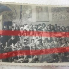 Fotografía antigua: LETUX ZARAGOZA ANTIGUA FOTOGRAFIA DE NIÑOS FEBRERO 1958 10 X 7 CM. Lote 53737435