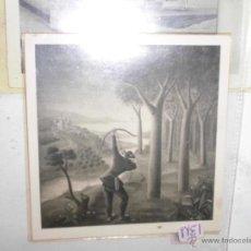 Fotografía antigua: ARQUERO EN BOSQUE MANUEL BAEZA PINTURA ALICANTINA FOTO ANTIGUA ORIGINAL PERSONAL AÑOS 40 50. Lote 53737809