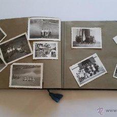 Fotografía antigua: ALBUM CON 200 FOTOGRAFIAS MALAGUEÑAS DE LOS AÑOS 40 - VARIAS TEMATICAS DE MALAGA Y TAMAÑOS. Lote 53748480