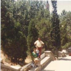 Fotografía antigua: ** Z706 - FOTOGRAFIA - FAMILIA EN BONITO PAISAJE - LL19 . Lote 53772722