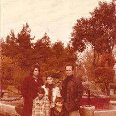 Fotografía antigua: ** Z707 - FOTOGRAFIA - FAMILIA EN BONITO PAISAJE - LL19. Lote 53784078