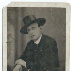 Fotografía antigua: EXTRAORDINARIA FOTO POSTAL ANTIGUA - DE UN CABALLERO - FOTO- JIMENEZ-REGINA.34 - SEVILLA- AÑOS 20. Lote 53951969