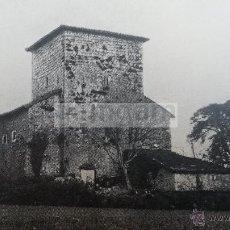Fotografía antigua: TORRE DE ONDARROA VIZCAYA BIZKAIA AÑO 1929 (REFAT) LAMINA. Lote 54053150