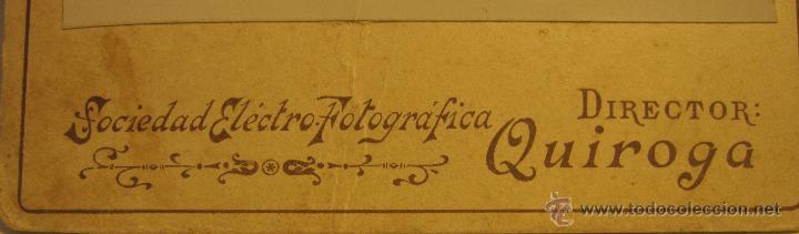 Fotografía antigua: FOTOGRAFIA RETRATO HOMBRE (1899). FOT. A.M.QUIROGA. REAL, 86, LA CORUÑA. 16.50 X 11 CM - Foto 2 - 54152716
