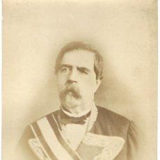 Fotografía antigua: GRAN FOTOGRAFIA ANTIGUA -GOBERNADOR DE HABANA -EXCMO. SR. D.FELIPE GINOVES ESPINAR DE CUBA DEL 1869. Lote 54354708