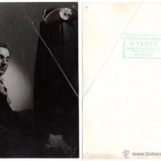 Fotografía antigua: FOTOGRAFÍA DE JOSÉ GRECO REALIZADA POR JUAN GYENES CON DEDICATORIA Y FIRMA AUTÓGRAFA DE AMBOS. Lote 54456173