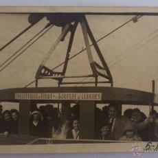 Fotografía antigua: FOTOGRAFIA TELEFERICO DE LOURDES, MEDIDAS 14 X 9 CM. Lote 54469008