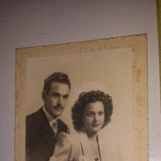 Fotografía antigua: PAREJA 1941. Lote 54841138