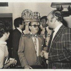 Fotografía antigua: EL ESCRITOR Y PERIODISTA, EVARISTO ACEVEDO. FOTÓGRAFO, SANZ BERMEJO. MADRID.. Lote 54994325