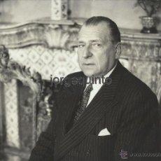 Fotografía antigua: S.A.R. D. JUAN DE BORBÓN Y BATTENBERG. CONDE DE BARCELONA. FOTÓGRAFO ELIO SORCI. ROMA.. Lote 55012654