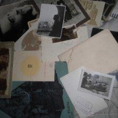 Fotografía antigua: LOTE ANTIGUA FOTO RUPERTO CHAPI Y REVISTA FOTOS Y POSTALES ANTIGUAS DE VILLENA ALICANTE. Lote 55025408