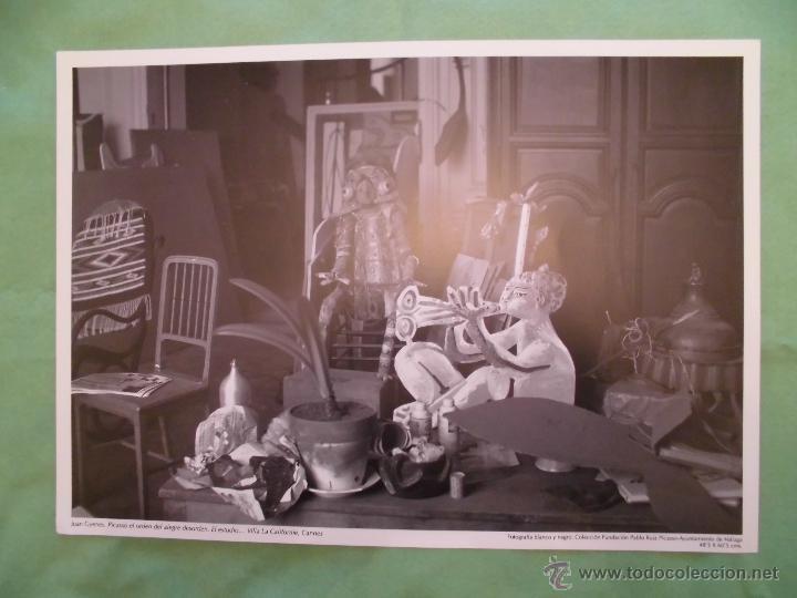 Fotografía antigua: FOTOGRAFÍA DE PABLO RUÍZ PICASSO POR JUAN GYENES - AYUNTAMIENTO DE MÁLAGA - TEXTO EN ESPAÑOL. - Foto 4 - 55083908