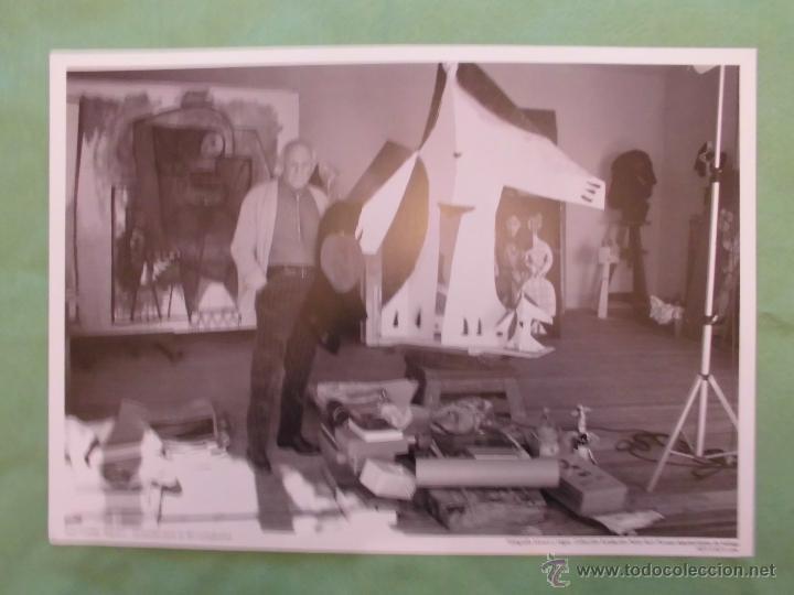 Fotografía antigua: FOTOGRAFÍA DE PABLO RUÍZ PICASSO POR JUAN GYENES - AYUNTAMIENTO DE MÁLAGA - TEXTO EN ESPAÑOL. - Foto 5 - 55083908