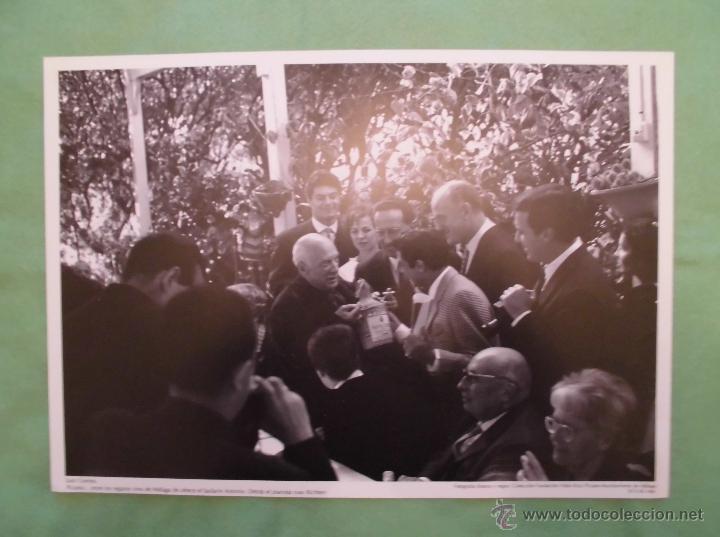 Fotografía antigua: FOTOGRAFÍA DE PABLO RUÍZ PICASSO POR JUAN GYENES - AYUNTAMIENTO DE MÁLAGA - TEXTO EN ESPAÑOL. - Foto 6 - 55083908
