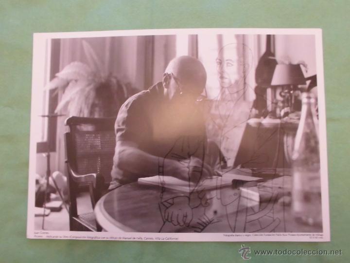 Fotografía antigua: FOTOGRAFÍA DE PABLO RUÍZ PICASSO POR JUAN GYENES - AYUNTAMIENTO DE MÁLAGA - TEXTO EN ESPAÑOL. - Foto 7 - 55083908