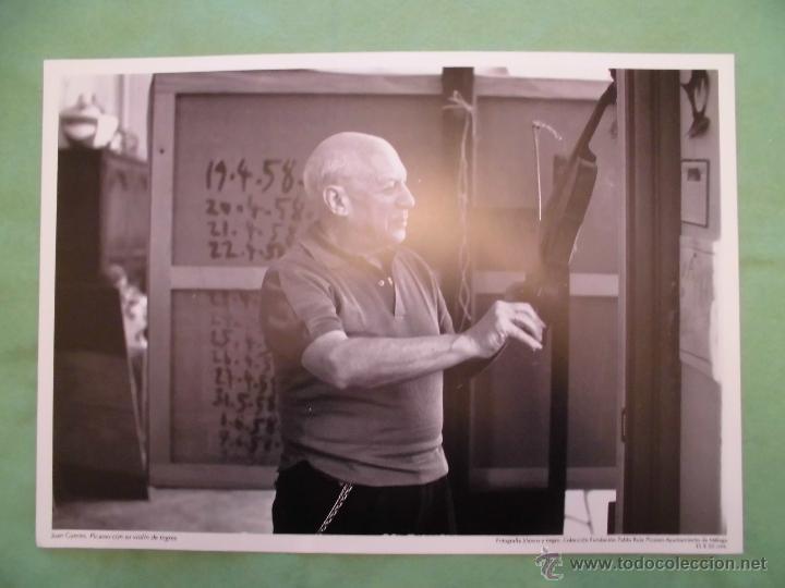 Fotografía antigua: FOTOGRAFÍA DE PABLO RUÍZ PICASSO POR JUAN GYENES - AYUNTAMIENTO DE MÁLAGA - TEXTO EN ESPAÑOL. - Foto 8 - 55083908