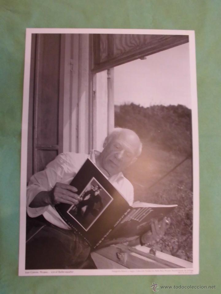 Fotografía antigua: FOTOGRAFÍA DE PABLO RUÍZ PICASSO POR JUAN GYENES - AYUNTAMIENTO DE MÁLAGA - TEXTO EN ESPAÑOL. - Foto 10 - 55083908