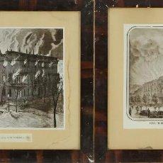 Fotografía antigua: FO-006. COLECCION DE 5 FOTOGRAFIAS DE GRABADOS Y LITOGRAFIAS DEL SIGLO XIX. SIGLO XX. . Lote 55328650