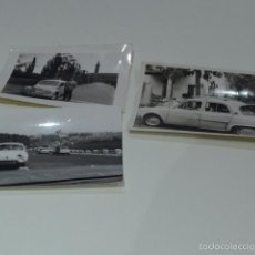 Fotografía antigua: LOTE 3 FOTOGRAFIA ANTIGUA DE COCHES ANTIGUOS, COCHE. Lote 55575516