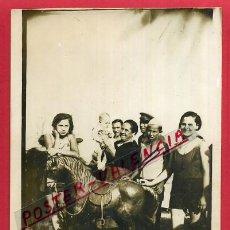 Fotografía antigua: FOTOGRAFIA ANTIGUA , FOTO MINUTERO , TARJETA POSTAL , ORIGINAL , MN45. Lote 55884512