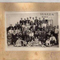 Fotografía antigua: CURIOSA FOTOGRAFÍA RESTAURANTE BIARRITZ. CALLE ALMANSA. MADRID. 19 X 24 CM. Lote 56236169