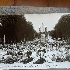Fotografía antigua: XVI PEREGRINACIÓN HOSPITALIDAD VALENCIANA DE NTRA. SRA. DE LOURDES 1960. Lote 56393063