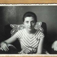 Photographie ancienne: SEÑORITA POSANDO. Lote 56543943