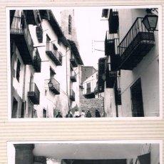 Fotografía antigua: MORELLA. DOS FOTOS AÑOS 70. Lote 56622457