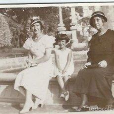 Fotografía antigua: EXTRAORDINARIA FOTOGRAFIA ANTIGUA DE FOTO FAMILIAR . Lote 57021933