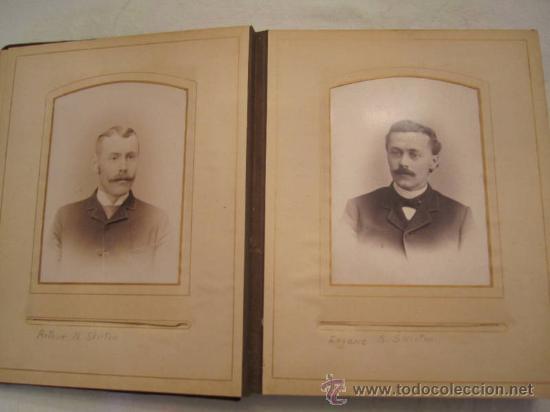 Fotografía antigua: ANTIGUO ALBUM EPOCA VICTORIANA,CIRCA 1849,FAMILIA SKILTON,26 FOTOS,ALGUNAS CON NOMBRES.UNA JOYA - Foto 4 - 57284441