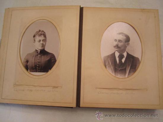 Fotografía antigua: ANTIGUO ALBUM EPOCA VICTORIANA,CIRCA 1849,FAMILIA SKILTON,26 FOTOS,ALGUNAS CON NOMBRES.UNA JOYA - Foto 8 - 57284441