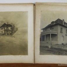 Fotografía antigua: FO-015. COLECCION DE 39 FOTOGRAFIAS. PROYECTO DE VILLAS. MANUEL CRUSAT. 1915. . Lote 57296320