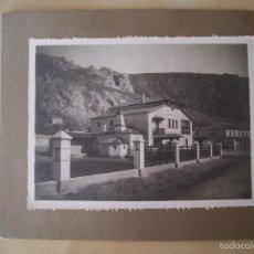 Fotografía antigua: FOTOGRAFIA ANTIGUA CASA EN PUEBLO MONTAÑA. Lote 57471552